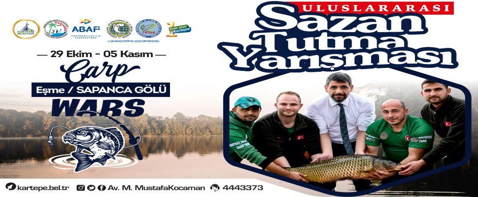 14. Ulusal ve Uluslararası Sazan Balığı Yakalama Yarışması