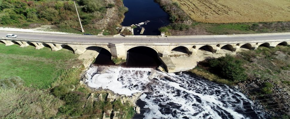 Ergene Nehri'nin su kalitesi kimyasal oksitte 4'üncü sınıf çıktı