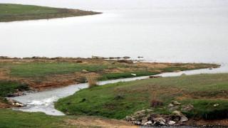 Kuruyan Altınyazı Barajı'na, 20 yıl sonra Meriç Nehri'nden su verildi