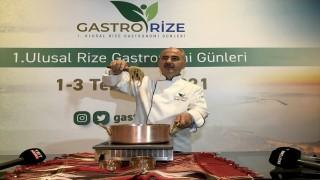 """Rize'deki """"Gastronomi Günleri, kentin tanıtıldığı konferansla devam etti"""