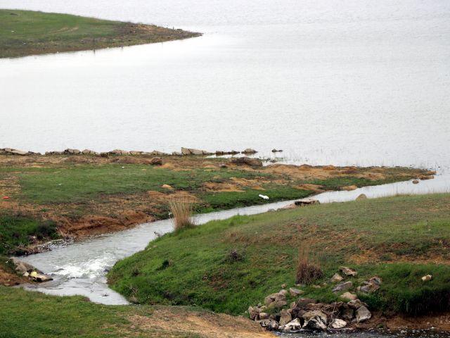 Altınyazı Barajı'na, Meriç Nehri'nden Su Verildi